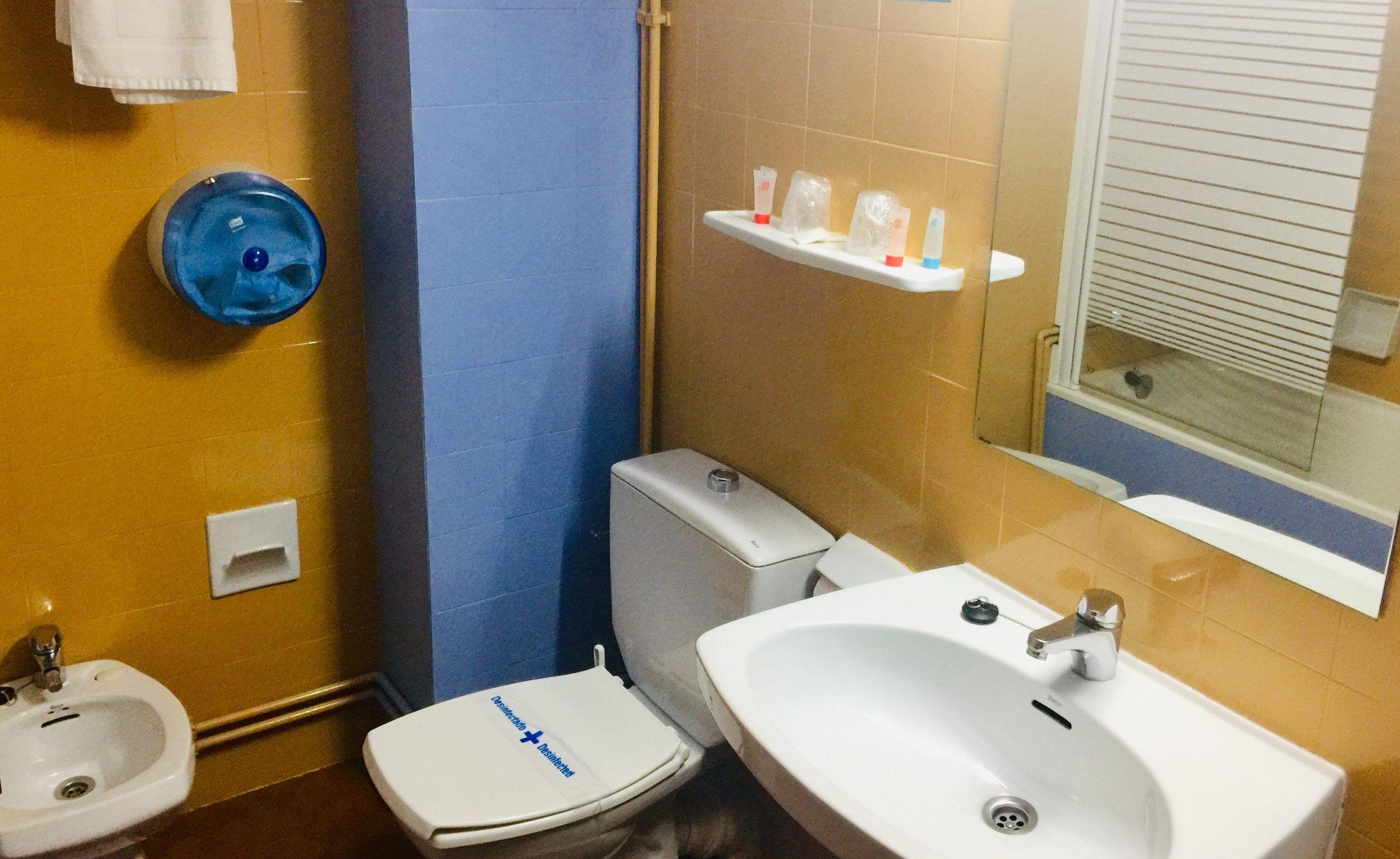 baño economico