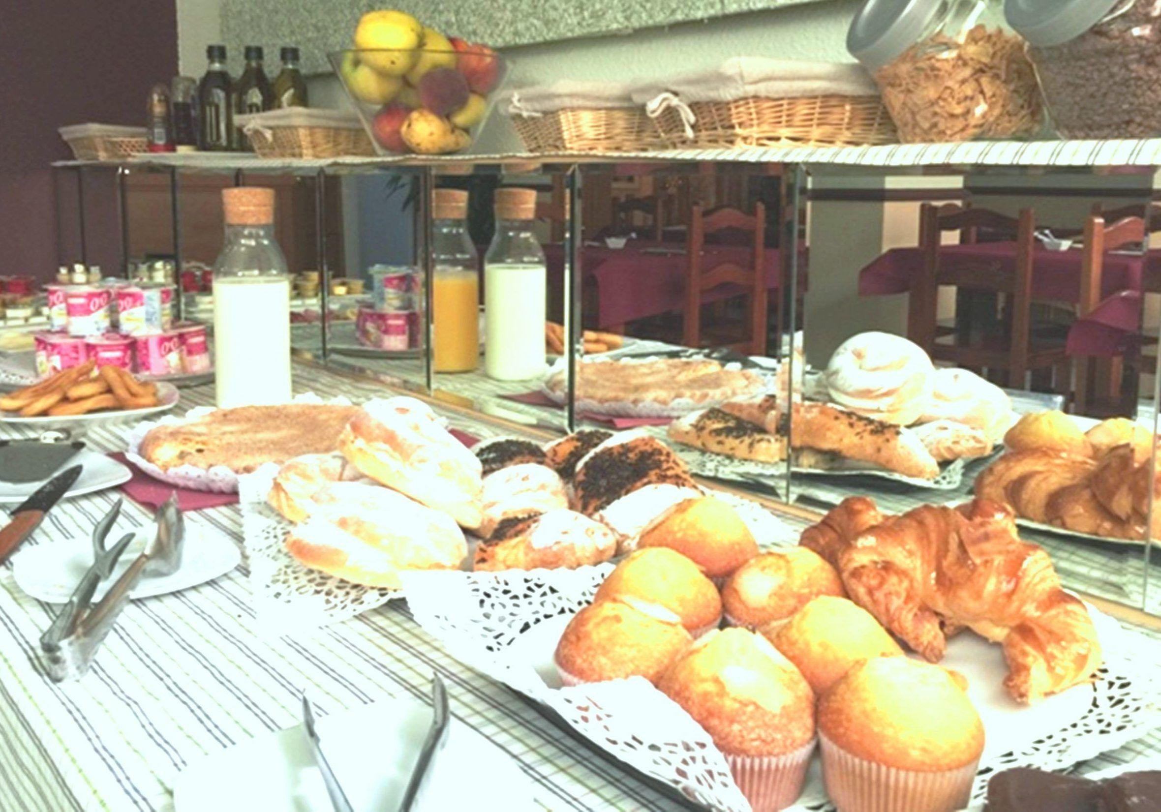 Desayuno buffet casero 100%